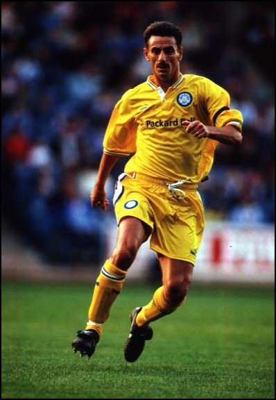 Ian Rush when he was at Leeds United